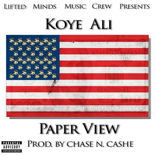 "Cover Art for ""Paper View"""