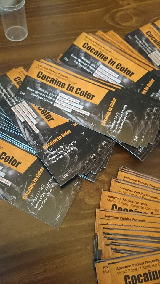Cocaine in Color Tickets