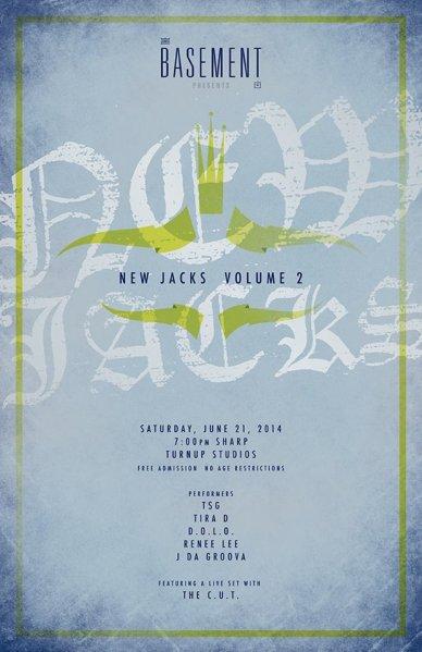 New Jacks Volume 2 Flyer