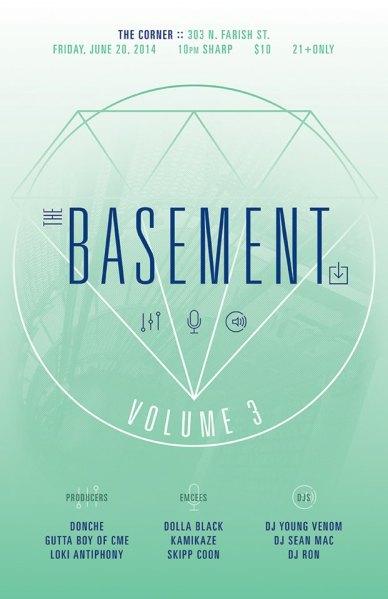 The Basement Part 3 Flyer