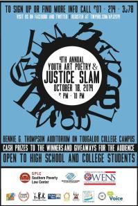 poetryart slam flyer