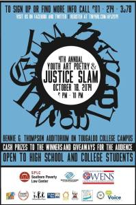 poetryart slam flyer