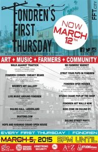 The Hood Hippie LIVE! At Fondren First Thursday on March 12!